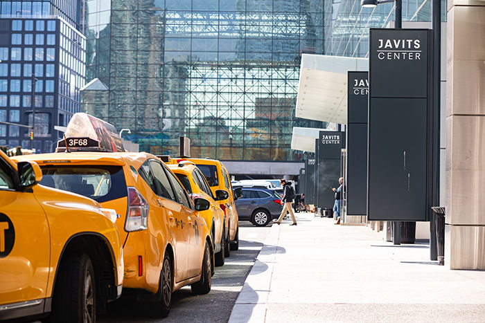 Outside Javits Convention Center